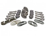 FORD 418W SCAT STEEL FLAT TOP STROKER KIT